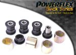 Ford Focus Mk2 RS 05-10 Powerflex Black Rear Lower Trail Arm Bushes PFR19-811BLK